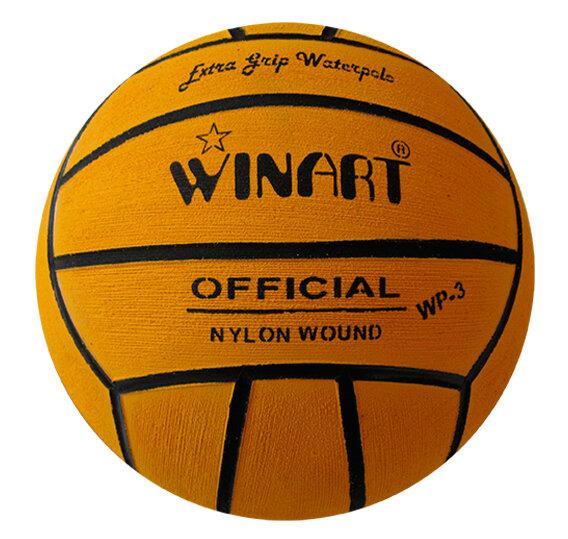 Мяч для водного поло Winart Official (размер 3) , желтый