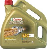 "Масло моторное Castrol ""Edge"", синтетическое, класс вязкости 5W-30, C3, 4 л"