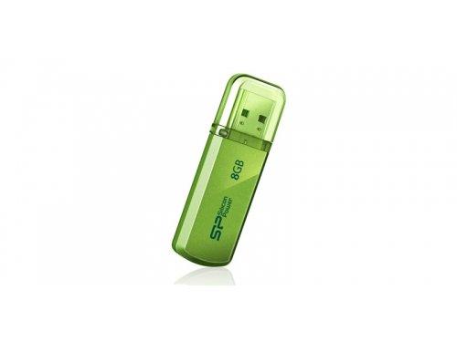 Usb-флешка Silicon-Power Helios 101 8GB, зеленая