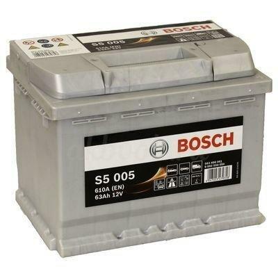 Аккумулятор Bosch 63Ач обратная полярность S5 005