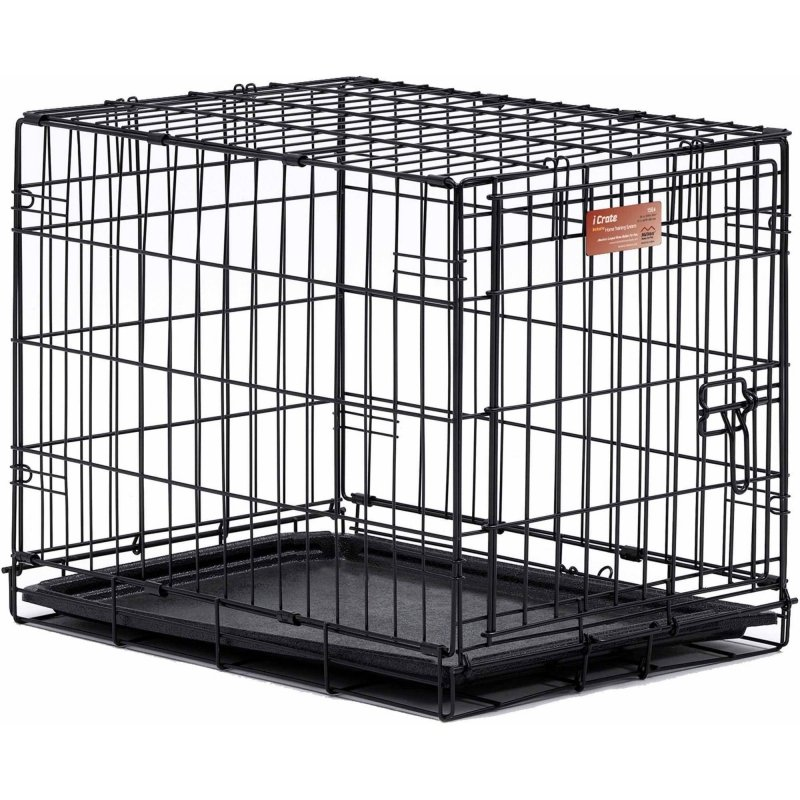 Клетка MIDWEST iCrate 1 дверь, черная 61х46х48 см
