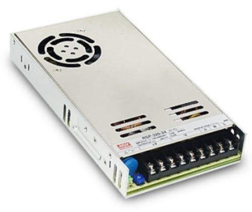 Преобразователь AC-DC сетевой Mean Well RSP-320-15 источник питания 15В с диапазоном входных напряжений 88-264 В, мощность 321Вт