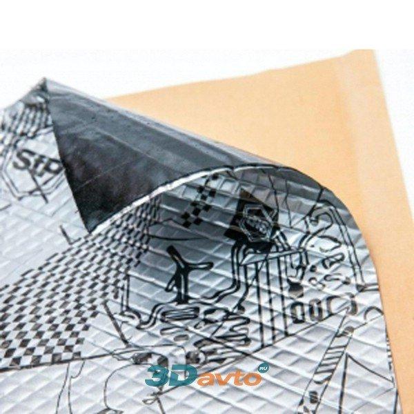 Шумоизоляционный материал STP SILVER 2мм (0,75х0,47)