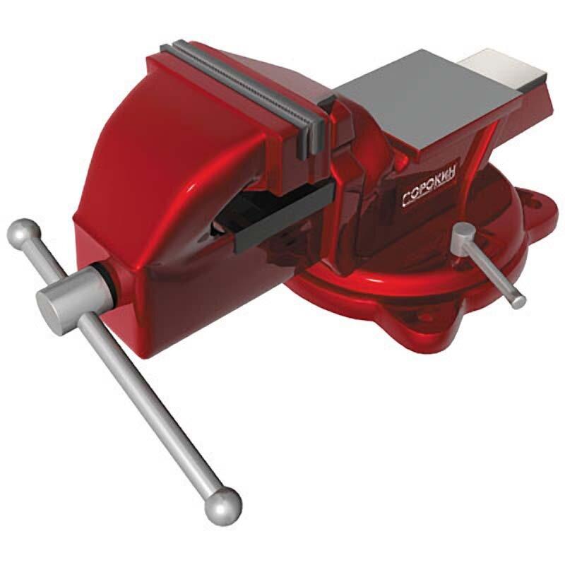 Ручной инструмент Сорокин Тиски поворотные 125мм (5