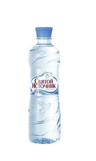 Вода Святой источник негазированная 0,5л