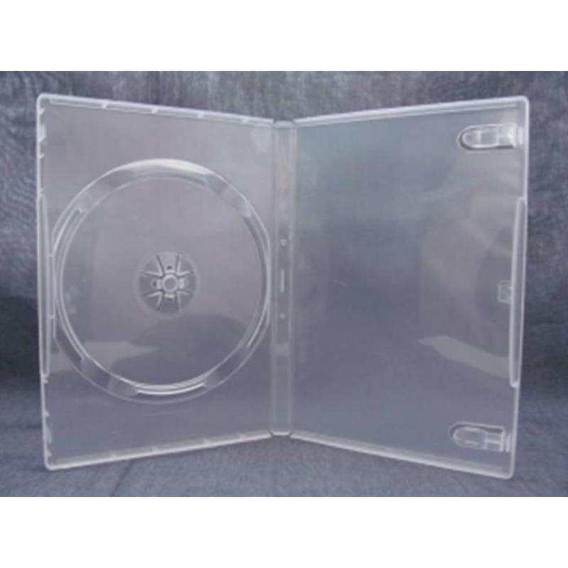 Бокс для CD/DVD дисков VS DVD-box прозрачный (5 штук в упаковке)