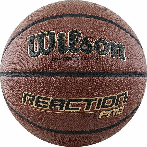 Мяч баскетбольный WILSON Reaction PRO арт.WTB10138XB06 р.6