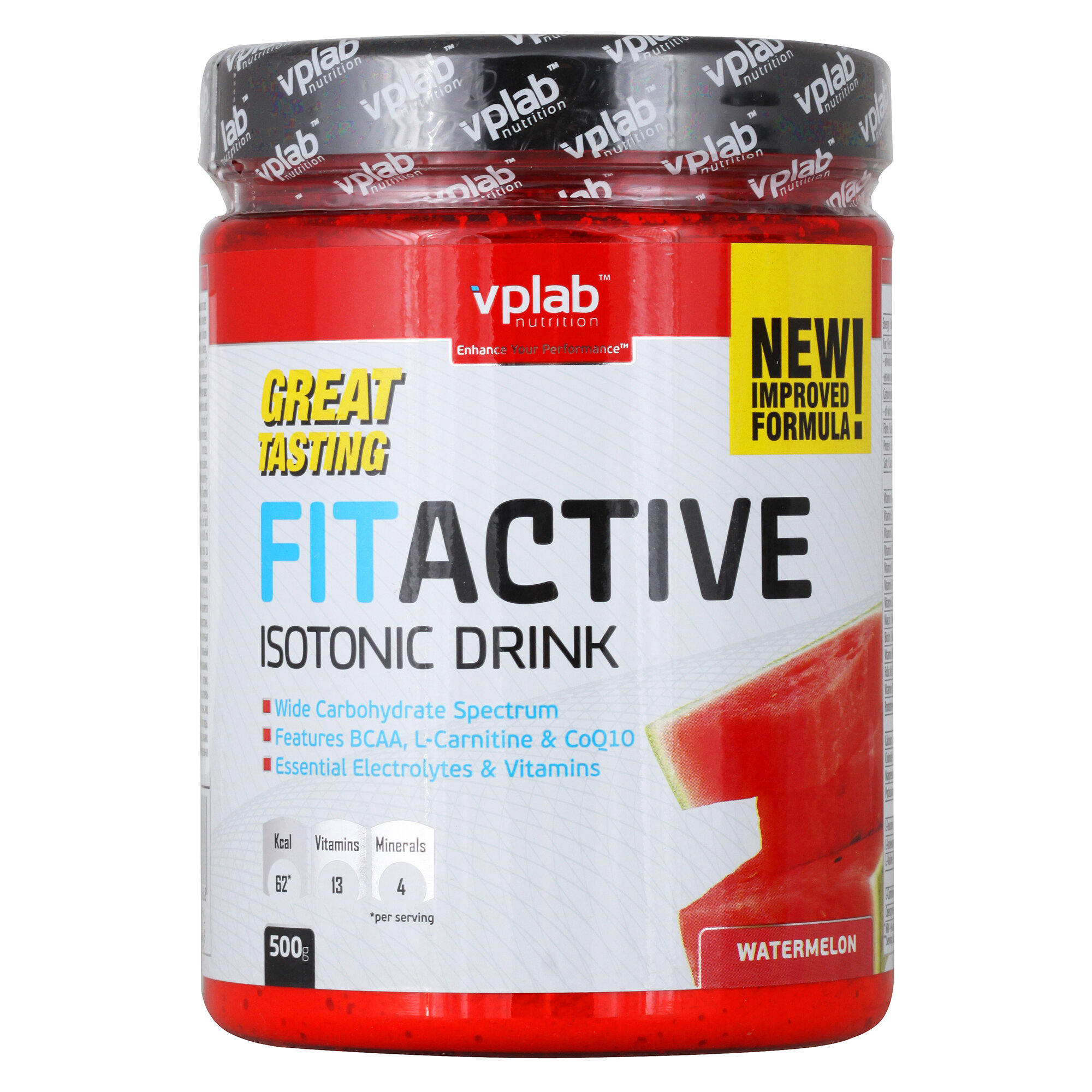 VP Laboratory FitActive Isotonic Drink, 500 г, вкус: арбуз