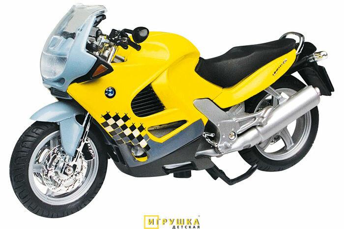 Мотоцикл Autotime (Автотайм) BMW K1200RS 1:18, серия MOTO DRIVE (9983)