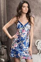 Стильная сорочка персидско-синего цвета