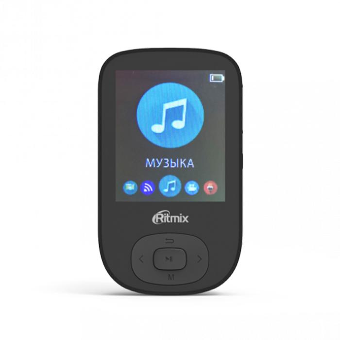 MP3-плеер Ritmix RF-5100BT 8Gb черный