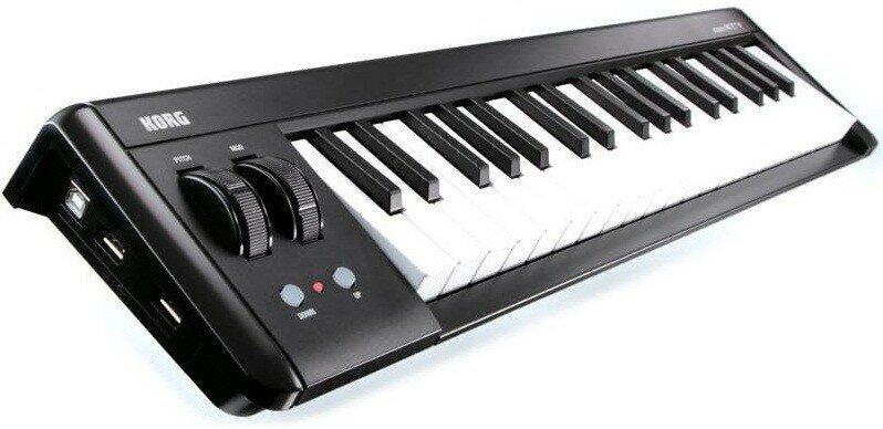 KORG MICROKEY2-37 компактная миди-клавиатура с поддержкой мобильных устройств, 37 клавиш