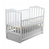 Детская кроватка Papaloni Винни маятник 120х60 Белый