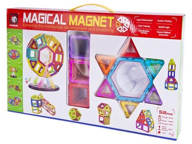 Конструктор Shantou Gepai 3D Магнитный 52 детали 703 / 631105