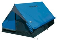 Палатка High Peak Minipack Синий/серый