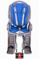 Заднее велокресло Flinger SW-BC-157 (выбранный цвет: Серый/синий)