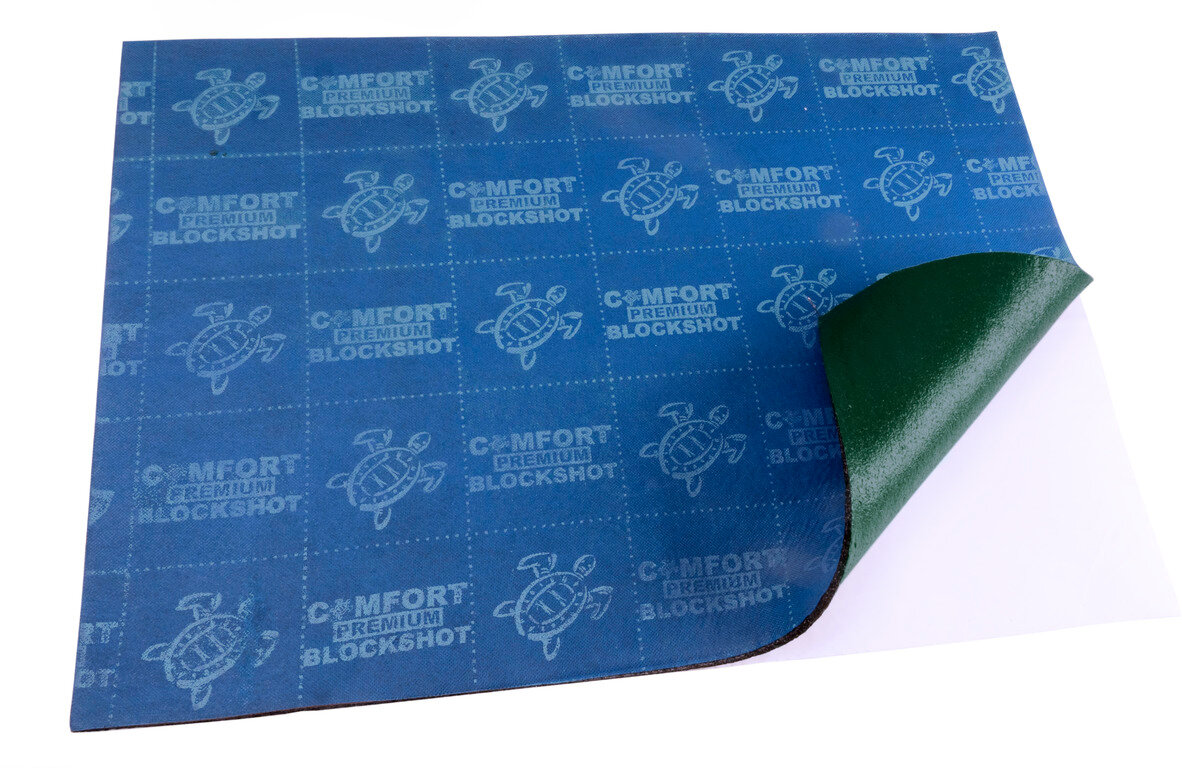 Звукоизолирующий материал Comfortmat Comfort mat BlockShot - 0,5х0,7