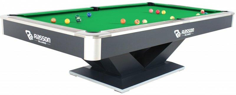 Бильярдный стол для пула Weekend «Victory II Plus» 9 ф (черный)