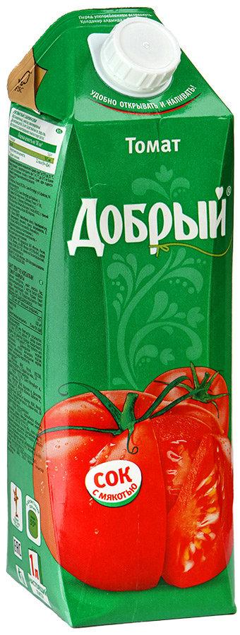 Сок Добрый томатный с мякотью 1л