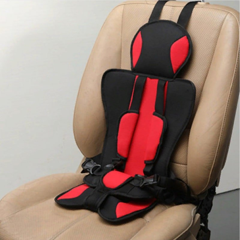 Детское мягкое бескаркасное автокресло Child Car Seat красное