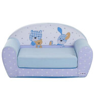 Диванчик раскладной Paremo Мимими Крошка Биби, цвет: голубой