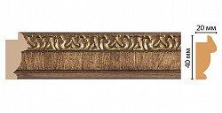 Декоративный багет для стен Декомастер Ренессанс 807-3