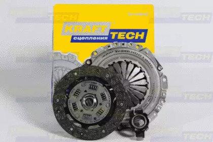 Комплект сцепления lada samara 2108-21099 86 Krafttech W00190B