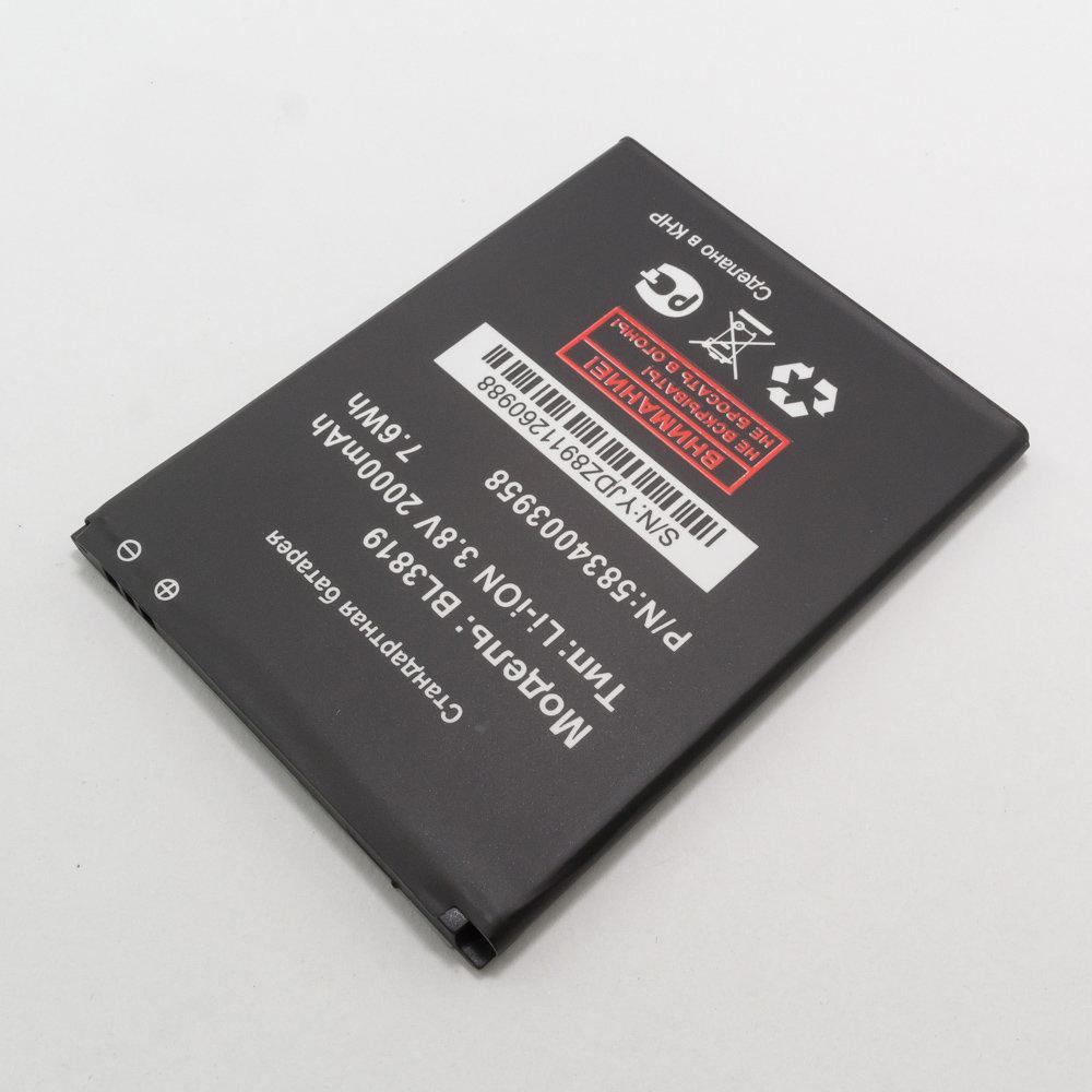 Аккумулятор BL3819 для телефона Fly IQ4514 EVO Tech 4