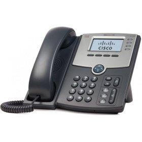 Cisco Linksys Телефон Cisco SPA504G-XU, 4 Line IP Phone With Display, PoE and PC Port-Crypto Disable