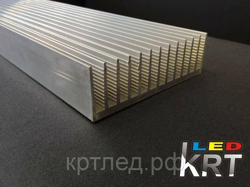 Радиаторный алюминиевый профиль 122х38мм