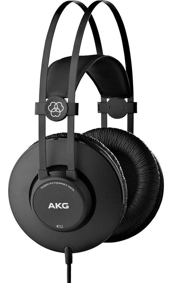 AKG K52 наушники закрытые 18-20000Гц, 32Ом, кабель 2.5м