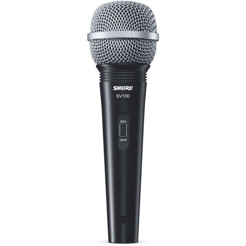 Микрофон SHURE SV100-A вокально-речевой, черный