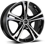 Колесный диск Borbet XL black polished 8x18 5x114.3 DIA72.5 ET40 - фото 1