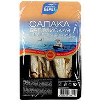 Салака Балтийский берег горячего копчения неразделанная, 300г