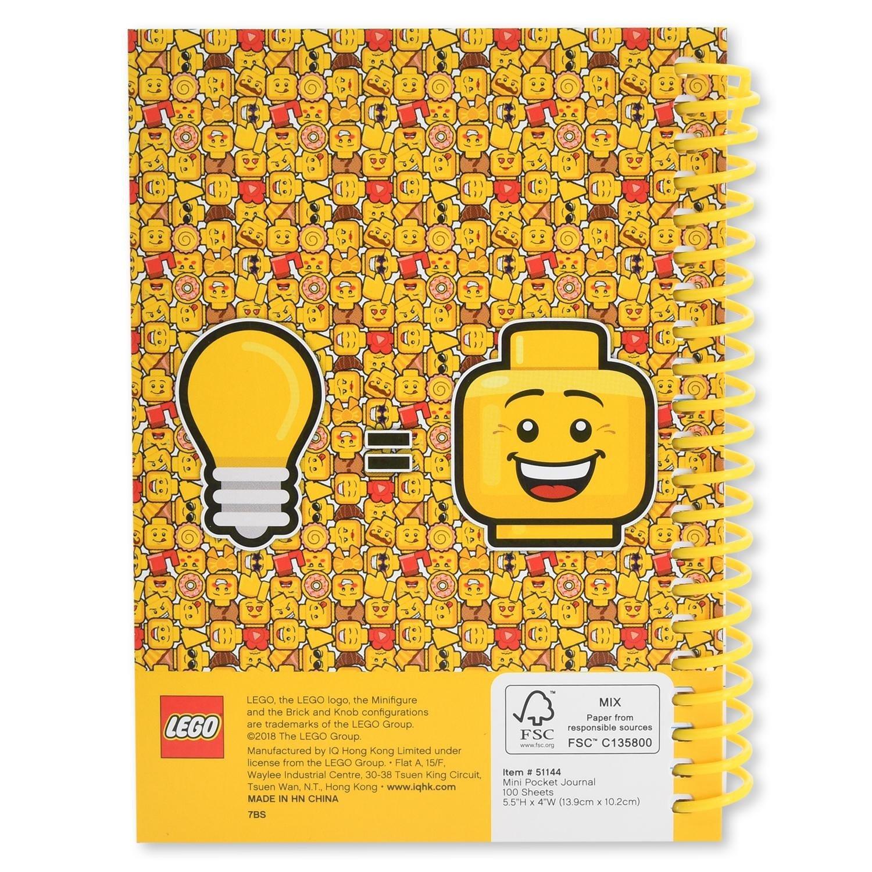 Блокнот A6 100 листов LEGO