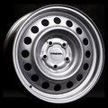 Штампованные диски Trebl X40915 6x15 4/100 ET40 d60,1 (silver) - фото 1