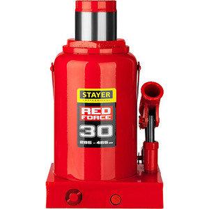 Домкрат гидравлический бутылочный Stayer 30т, Red Force (43160-30-z01)
