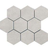 Мозаика Polcolorit Modern Gr Mosaic Hex 300x300 мм (Керамическая плитка для ванной)