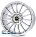 Диск OZ Racing Superturismo Lm 8x18 5/120 ET40 D79 Matt Race Silver Black Lettering - фото 1