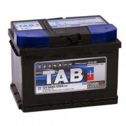 Автомобильный аккумулятор TAB POLAR S 60R (низкий) 550А обратная полярность 60 Ач (242x175x175)