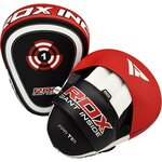 Боксерские лапы RDX T1 Red Boxing Pads экокожа