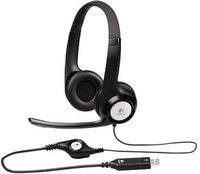 Гарнитура Logitech Stereo Headset H390 (981-000406)