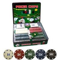 Набор для покера Holdem Lite 500 с сукном