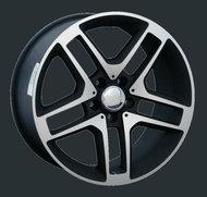 Диски Replay Replica Mercedes MR76 8.5x18 5x112 ET43 ЦО66.6 цвет MBF - фото 1
