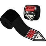 Бинты боксерские RDX 4.5M elasticated hands wraps черные
