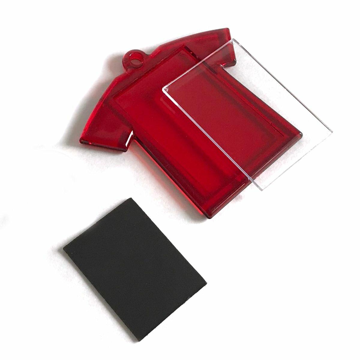 Магнит «Футболка» (Красный, 250 шт.)