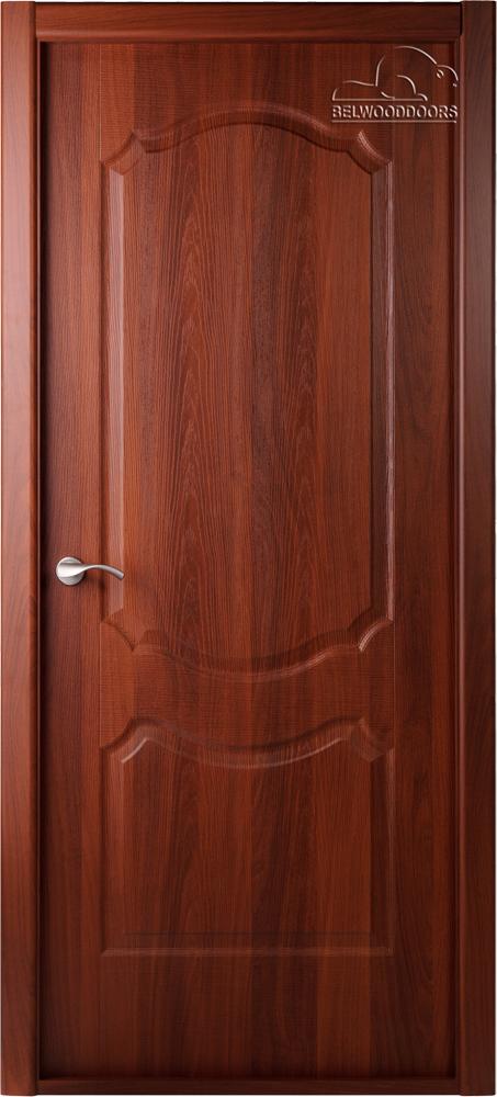 Межкомнатная дверь Перфекта (полотно глухое) Орех итальянский - 2,0х0,6