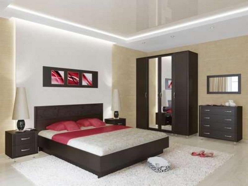 Комплект мебели в спальную комнату фабрики Стиль Стиль-1
