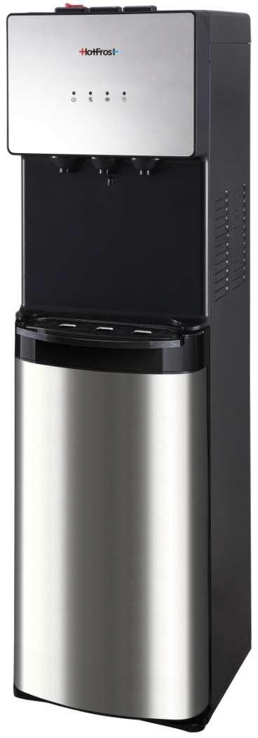 Кулер для воды HotFrost V400AS стальной с нижней загрузкой