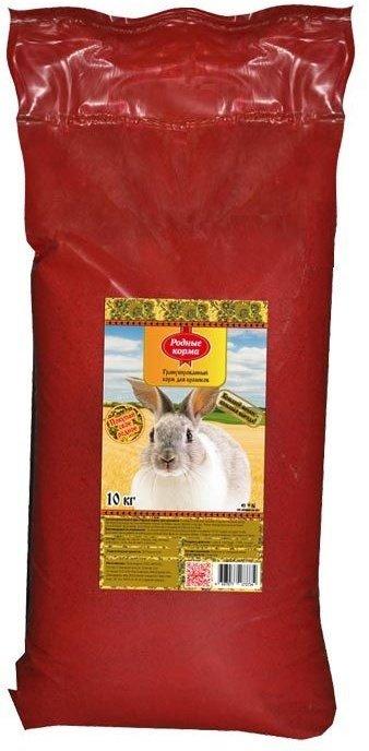 Комбикорм Родные корма для кроликов (10 кг, )
